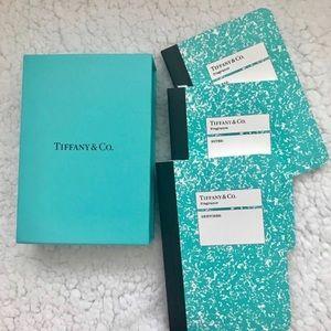 Authentic Tiffany & Co Notebook Trio